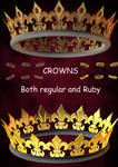 3D Stock Crown Pack 01