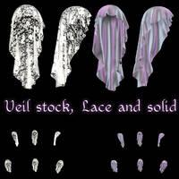 Veil Stock 001 by Delekatala-stock
