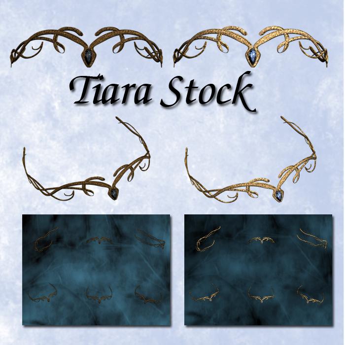 Tiara Stock 001 by Delekatala-stock