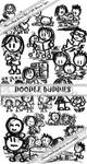 Doodle Buddies--20 PS brushes