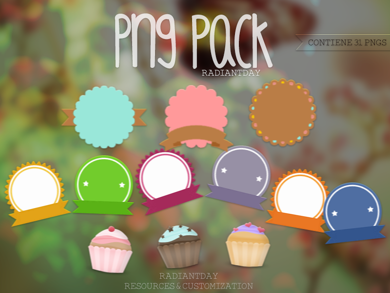 Pngs Pack || Clari by RadiantDay
