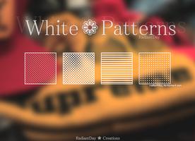 White Patterns    Clari