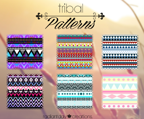 Tribal Patterns    Agusc: by RadiantDay