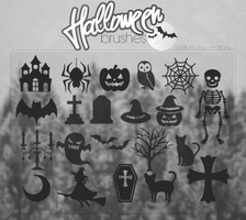 Halloween Brushes || Agus. by RadiantDay