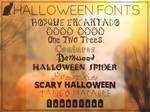 Halloween Fonts || Clari
