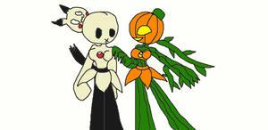 Mimi and Pumpkin Chans