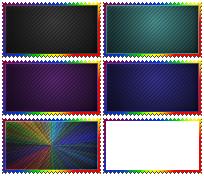Rainbow Templates by Dametora