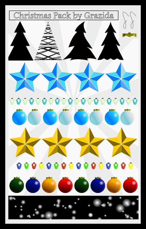 Christmas Pack by Grazida