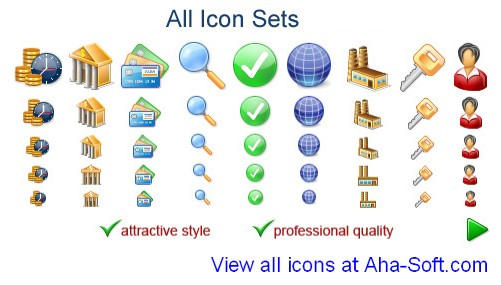 All Icon Sets 2011.1 Demo by fawkesbonfire