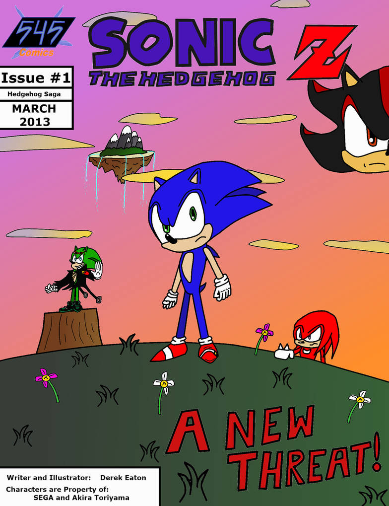 Sonic The Hedgehog Z Issue 1 Full Comic Pdf By Cci545 On Deviantart