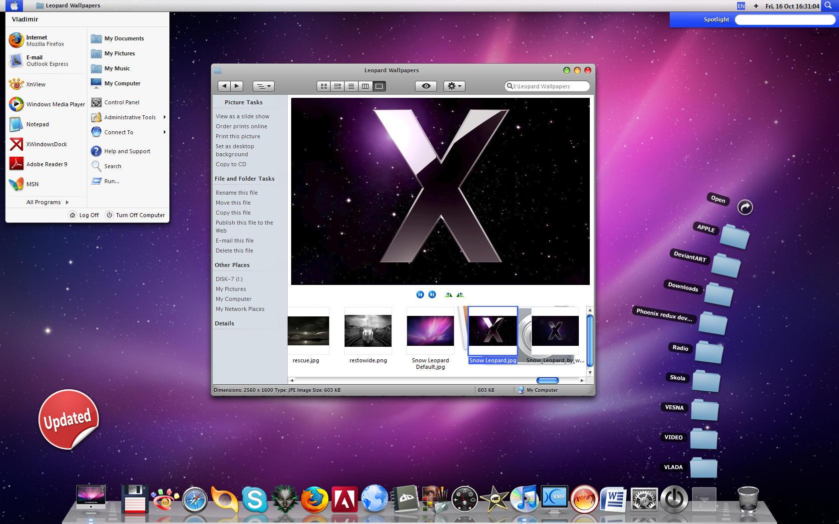 Leopard x by vladimir0523 on deviantart for Raumgestaltung mac os x
