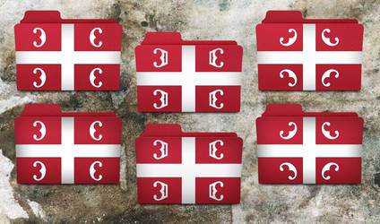 Serbian folder icons