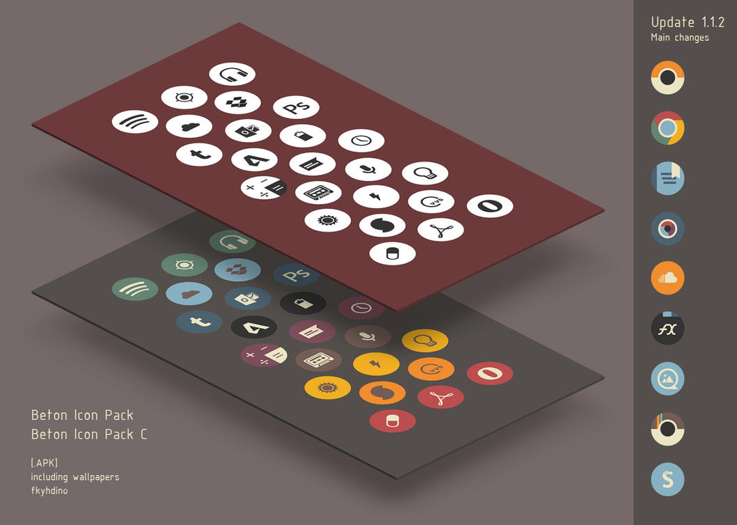 Beton Icon Pack v.1.1.2 for Android [.APK] by fkyhdino