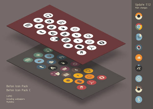 [CLOSED] Beton Icon Pack v.1.1.2 for Android .APK