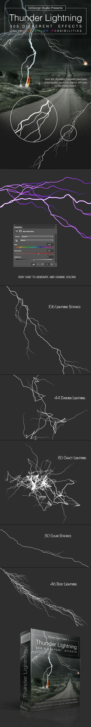 Thunder Lightning Effects by GrDezign