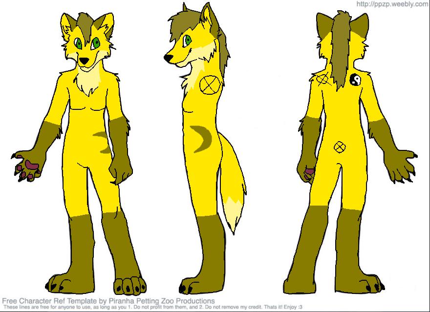 Updated Moon character sheet by monacasket on DeviantArt