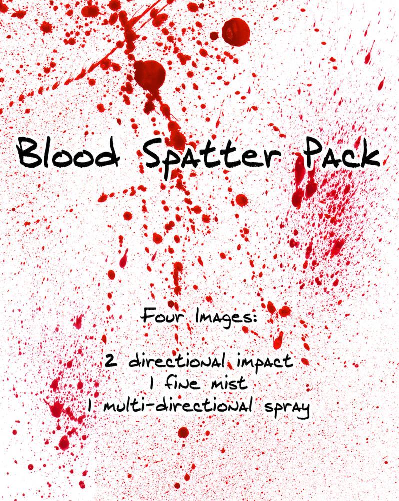 Blood Spatter Pack