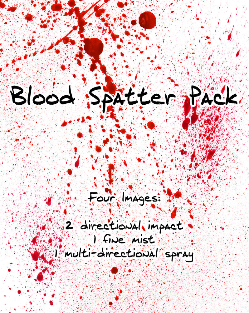 Blood Spatter Patterns Amazing Decorating Ideas