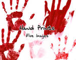 Bloody Hand Prints Pack