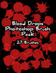 Blood Drops Brush Pack