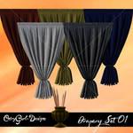 Drapery Set 01