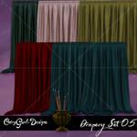 Drapery Set 05