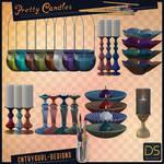 Pretty Candles by CntryGurl-Designs