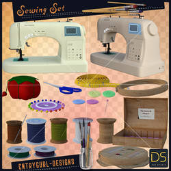 Sewing Set by CntryGurl-Designs