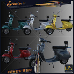 Scooters by CntryGurl-Designs