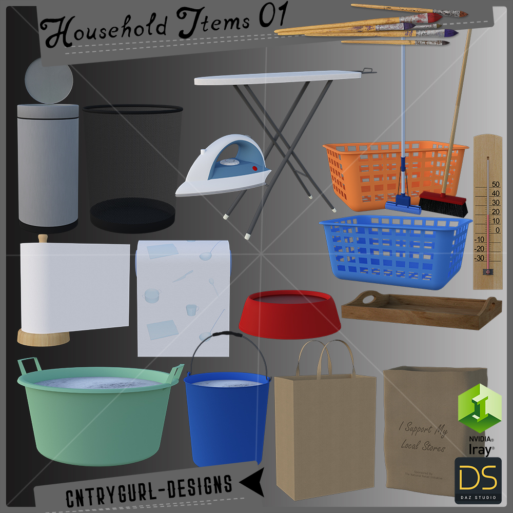 Household Items 01