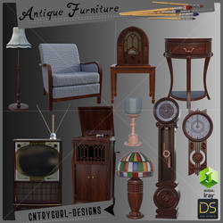 Antique Furniture by CntryGurl-Designs