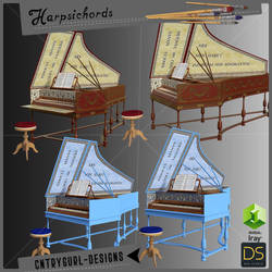 Harpsichords by CntryGurl-Designs