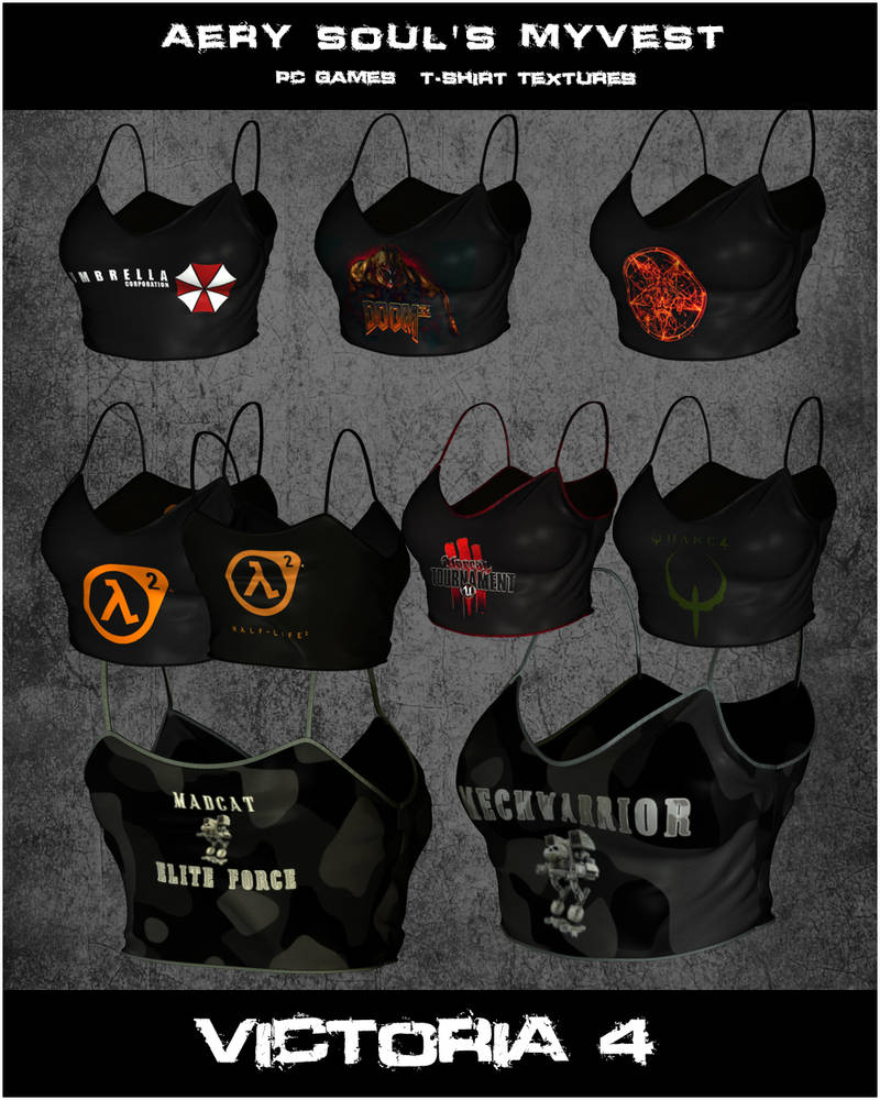 AS MyVest PC Games MC6 by inception8-Resource on DeviantArt