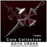 CC Goth Cross