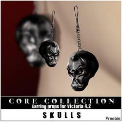 CC Skulls Freebie by inception8-Resource
