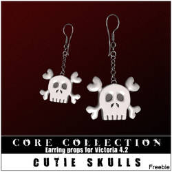 CC CutieSkulls Freebie by inception8-Resource