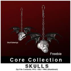 CC SkullBwing Freebie by inception8-Resource