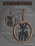 Serenity Chinese Earrings