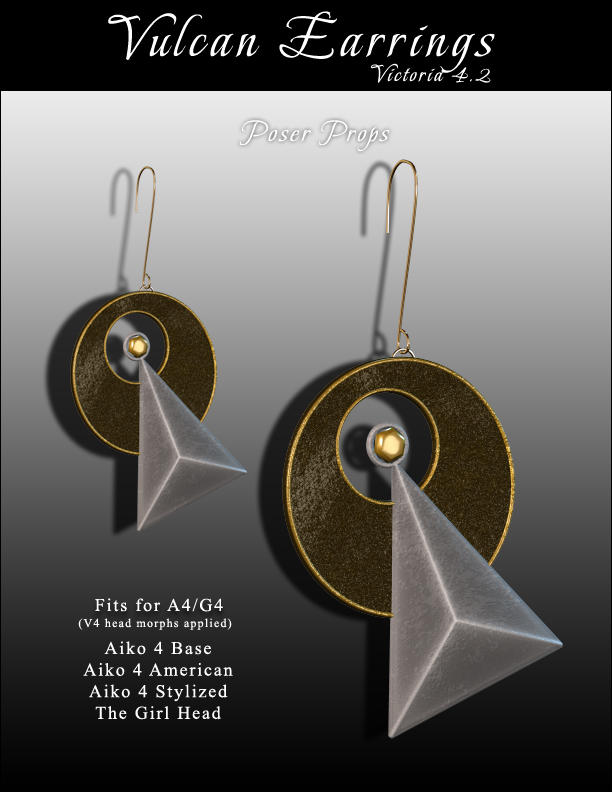 StarTrek Vulcan Earrings by inception8-Resource