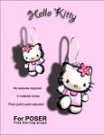 Hello Kitty Earring props