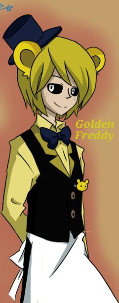 Human!Golden Freddy x Shy!Male!Reader [Dare] by ChaToeto on
