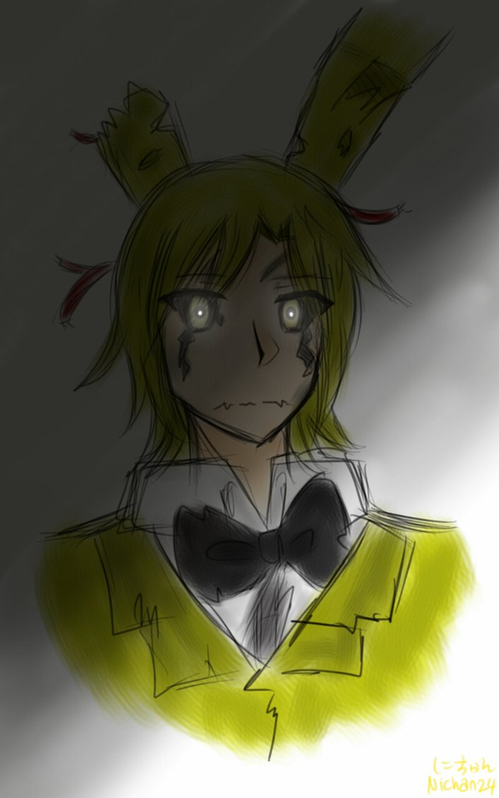 Human spring trap x shy blind male reader pain 3 by chatoeto on