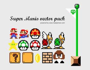 Super Mario Vector Pack