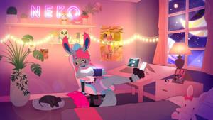 Lo-Fi Animation Commission - NekoTineee