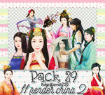 [Pack Render #29]-CHINA GIRL 2