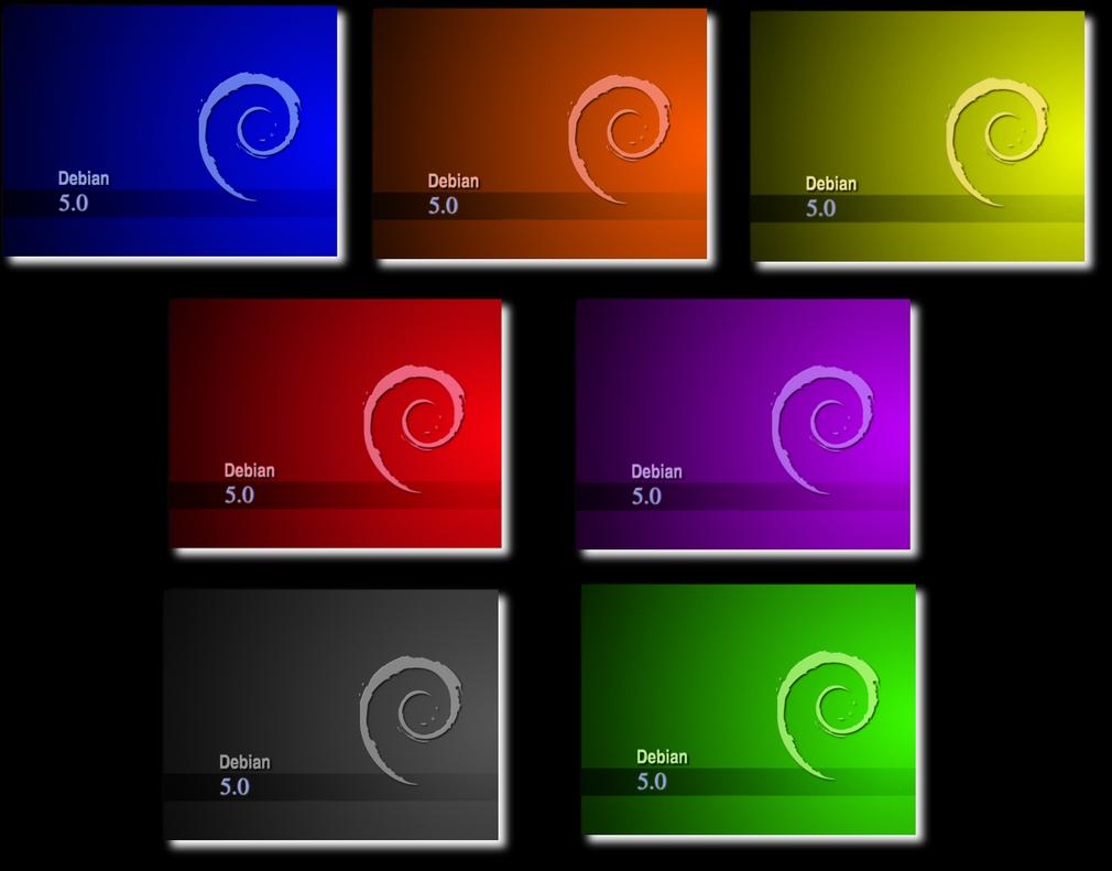 debian colors