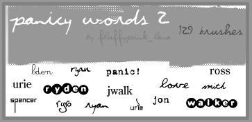 Panicy Words 2
