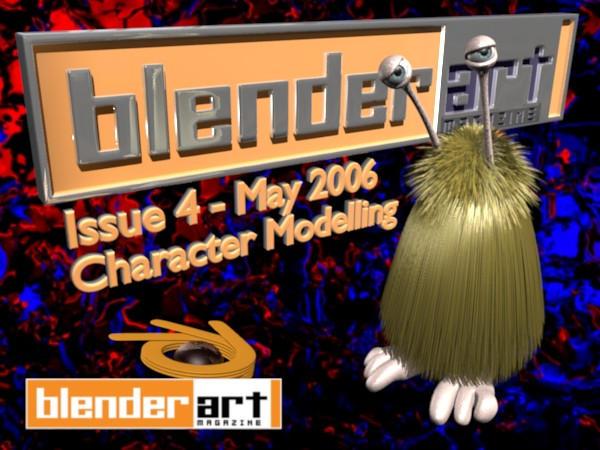 BlenderArt Mag 4 by BlenderCommunity