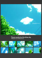 There surely be the blue sky by Raindropmemory