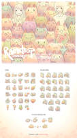 10000 Cats Icon Set